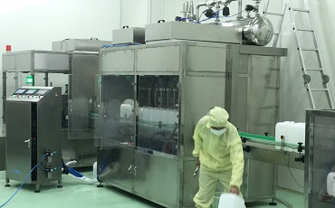 Hemodialysis Solution Filling Machine