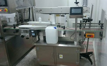 Hemodialysis Solution Labelling Machine